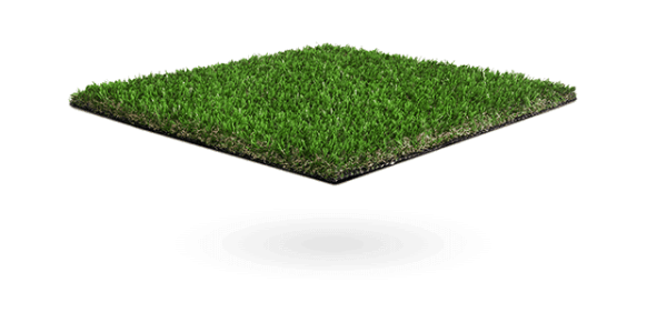 close up of vibrant artificial grass